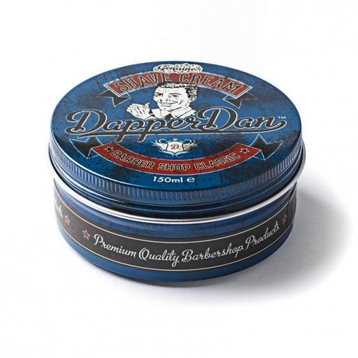 Dapper Dan Shave Cream 150ml, shave cream