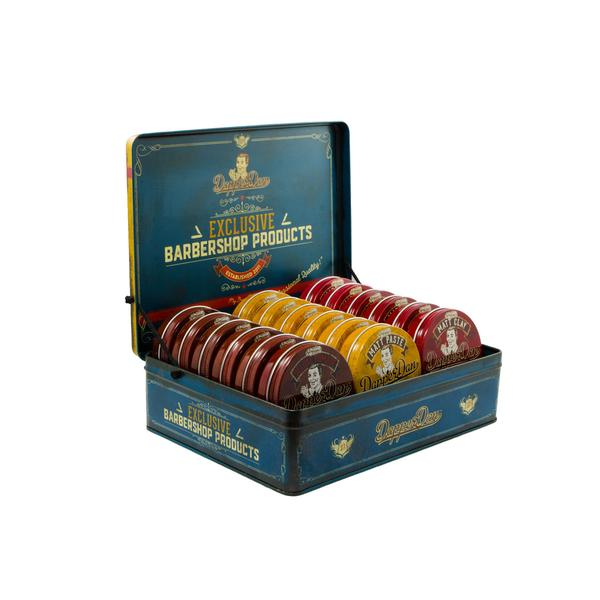 Dapper Dan 3-Channel Display Bundle, Pomade & Hair Products