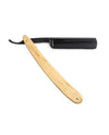 "Dovo ""Diamant"" Straight Razor, Olivewood Handle - Carbon Steel / Full Hollow, Straight Razor"