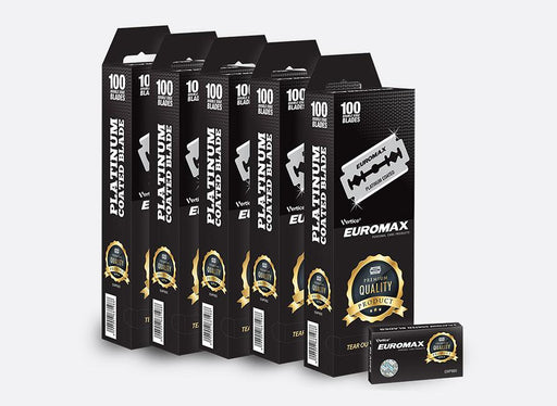 Euromax Double Edge Razor Blades 100ct.