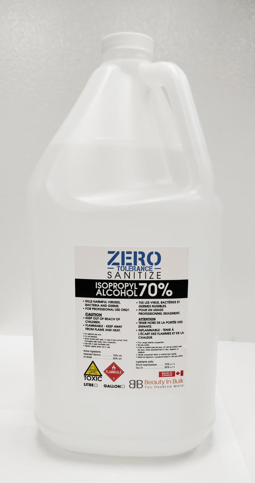 Zero Tolerance Sanitize 70% Isopropyl Alcohol Gallon