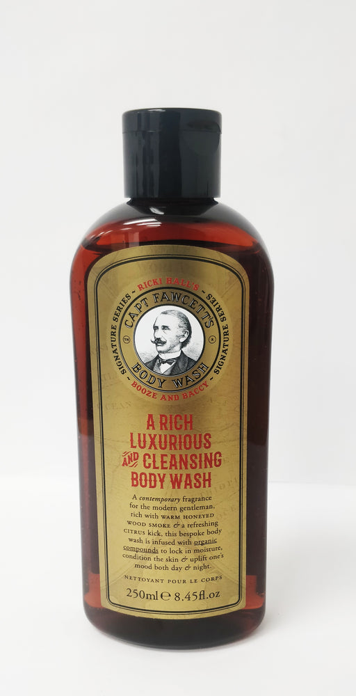 Captain Fawcett's Ricki Hall's Booze and Baccy Body Wash (250ml/8.45oz)