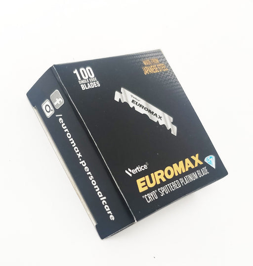 Euromax Single Edge Razor Blades 100ct.