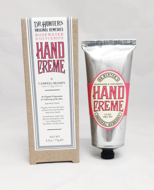 Caswell Massey Dr. Hunter's Rosewater Hand Creme