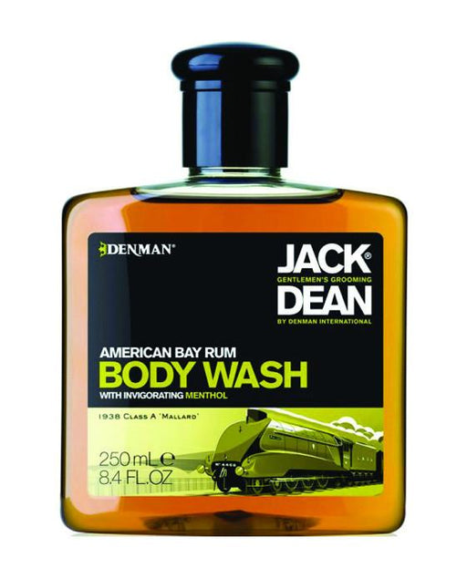 Jack Dean American Bay Rum Body Wash (8.4oz), Men's Bodycare