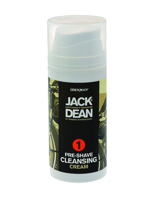 Jack Dean Pre-Shave Cleansing Cream (3oz), Pre Shave Oil