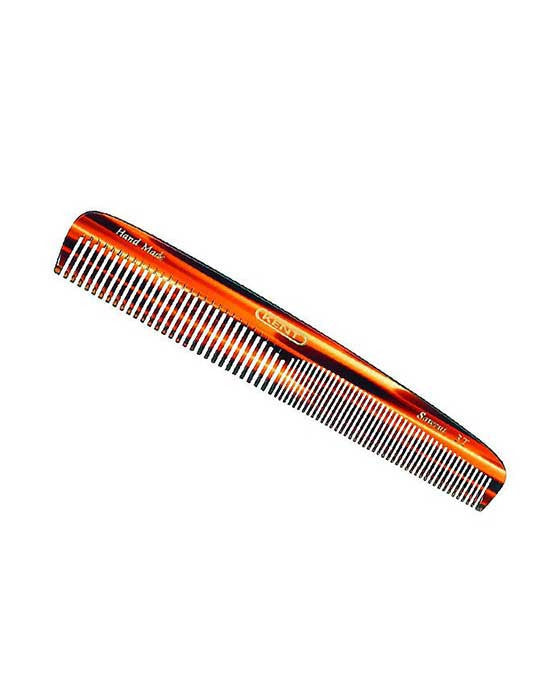 Kent K-3T Comb, Dressing Comb, Coarse/Fine (167mm/6.6in), Hair Combs
