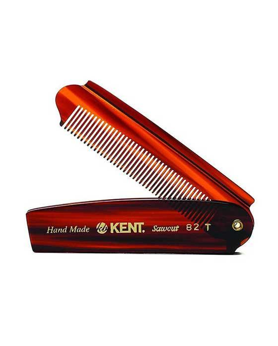 Kent K-82T Comb, Folding Comb,Fine (90mm/3.5in), Hair Combs