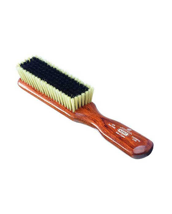 Kent K-CP6 Clothes Brush, For Cashmere, Black & White Pure Bristle, Mahogany, Clothes Brushes