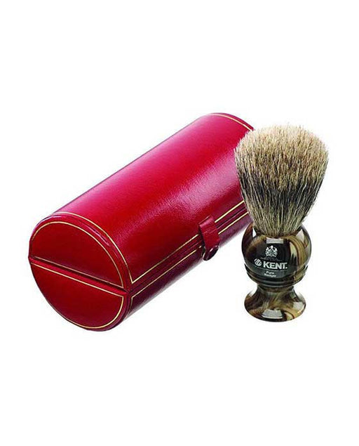 Kent Horn Shaving Brush, Best Badger, Medium, Shaving Brushes