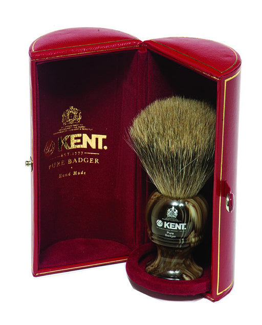 Kent Horn Shaving Brush, Best Badger, Large, Shaving Brushes