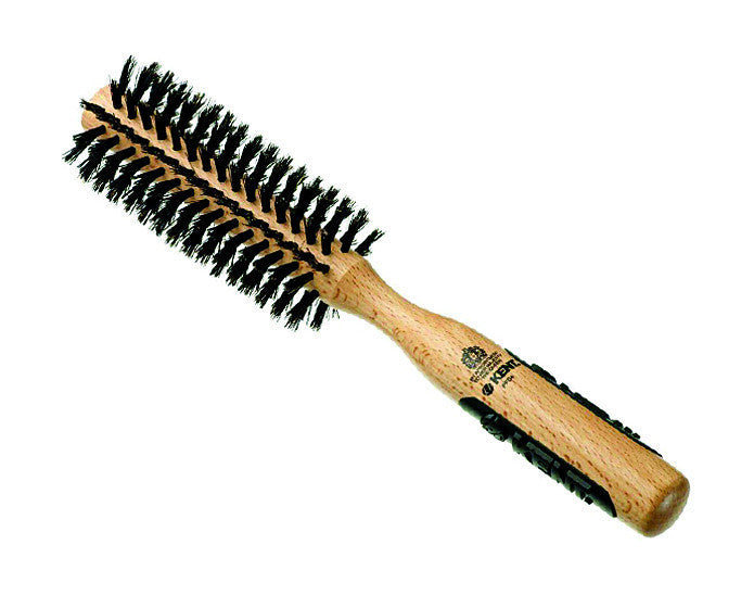 Kent Natural Shine Brush, Medium Radial, Pure Bristles, Hair Brushes
