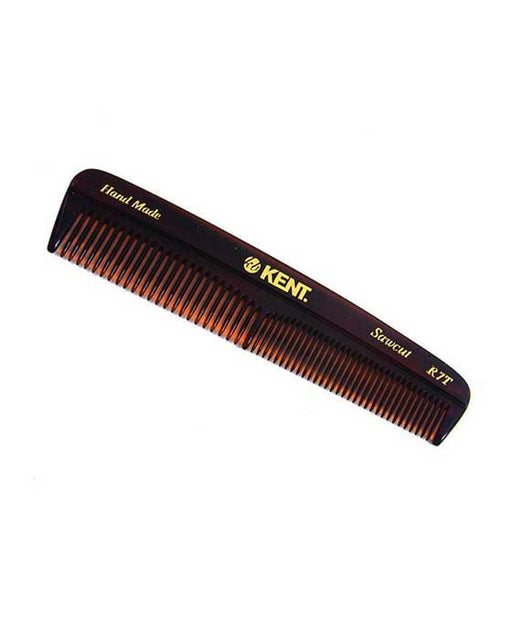 Kent K-R7T Comb, Pocket Comb, Coarse/Fine (130mm/5.1in), Hair Combs