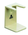 Kent Shaving Brush Stand, Ivory Color, Large Mouth, Razor & Brush Stands
