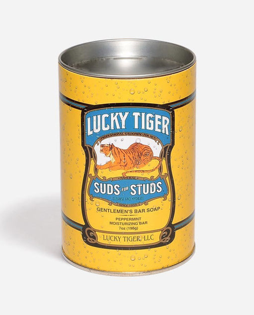 Lucky Tiger Suds for Studs Gentleman's Bar Soap, Men's Bodycare