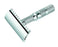 Merkur Travel Double Edge Safety Razor, Straight Cut, Chrome, Double Edge Safety Razors