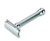 Merkur 47C Double Edge Safety Razor Safety Razor, Long, Engine-Turned Handle, Double Edge Safety Razors