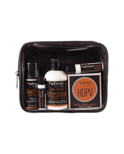 Menaji DAVID Camera Ready Kit, Light, Men's Skincare