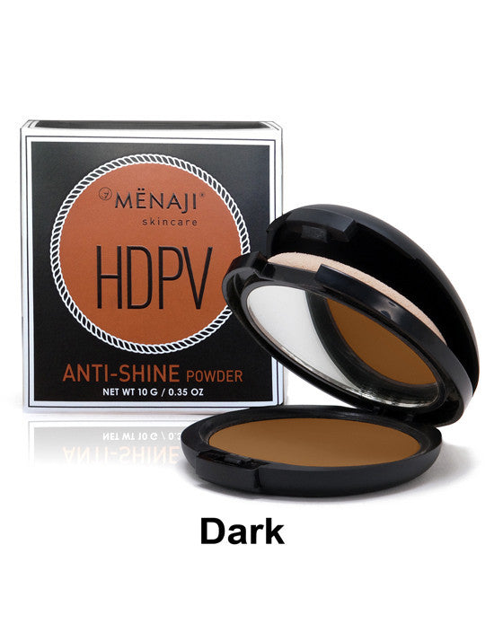 Menaji HDPV Anti-Shine Powder, Dark, Men's Skincare
