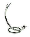 PureBadger Collection Curved Stand, Chrome For Straight Razors,