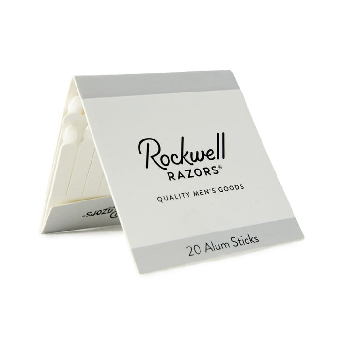 Rockwell Razors Alum Matchsticks (Pack of 20), Alums & Styptics