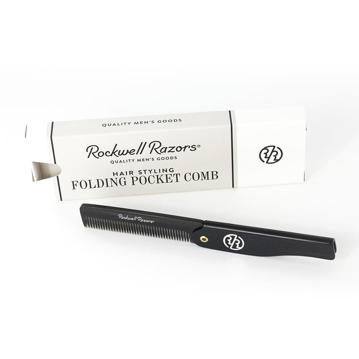 Rockwell Razors Hair Styling Folding Pocket Comb