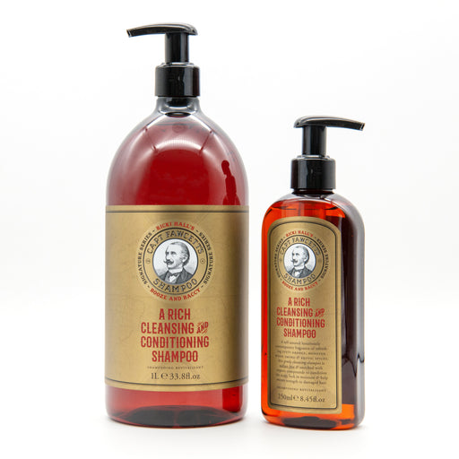 Captain Fawcett's Ricki Hall's Booze and Baccy Shampoo (1Ll/33.8oz)