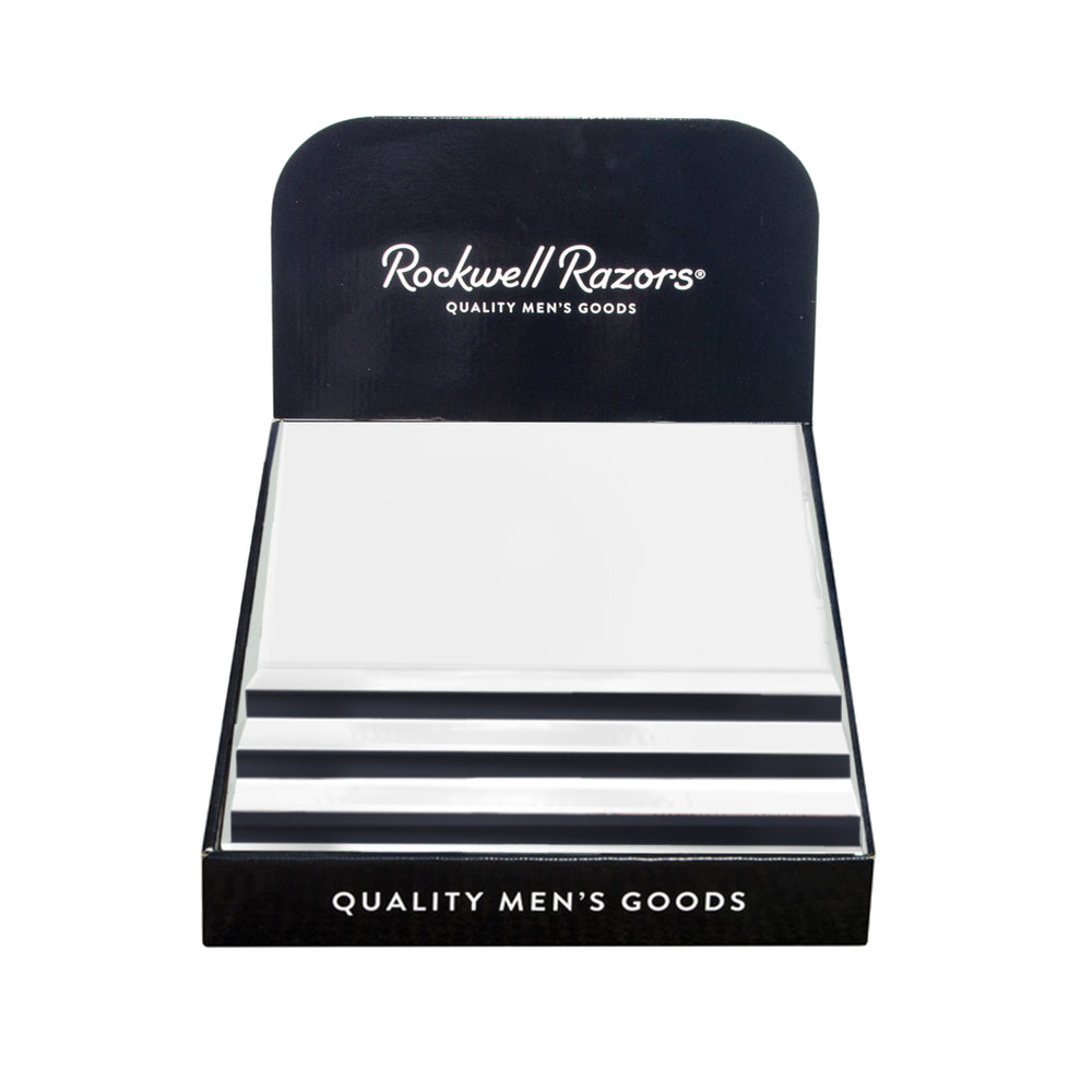Rockwell Razors Empty Retail Cardboard Display,