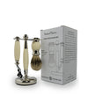 Rockwell Razors Three-Piece Shave Set Faux Ivory, Gift Sets & Kits