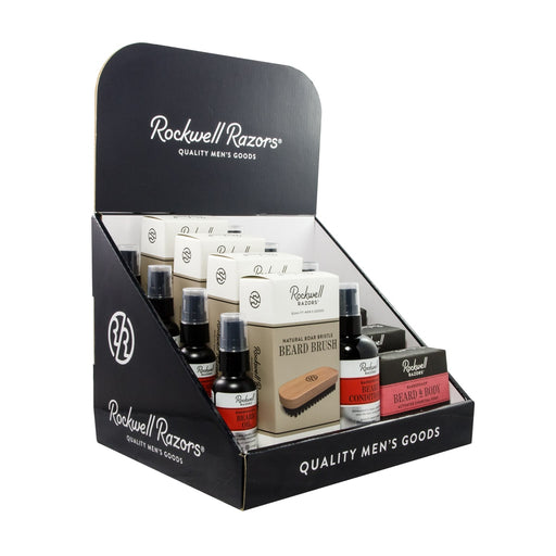 Rockwell Beard Collection Display Bundle,