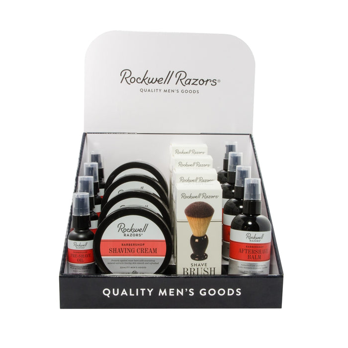 Rockwell Razors Shave Consumables Display Bundle,
