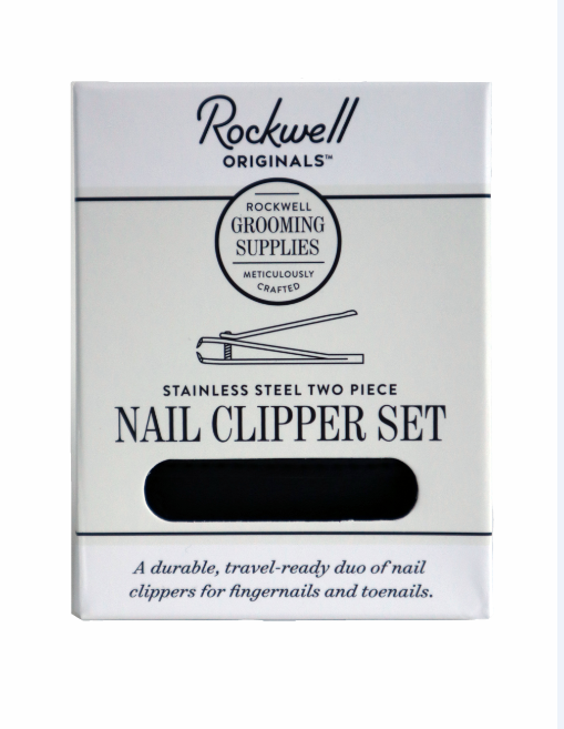 Rockwell Razors Stainless Steel Nail Clipper Set