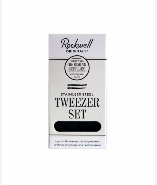Rockwell Razors Stainless Steel Tweezer Set