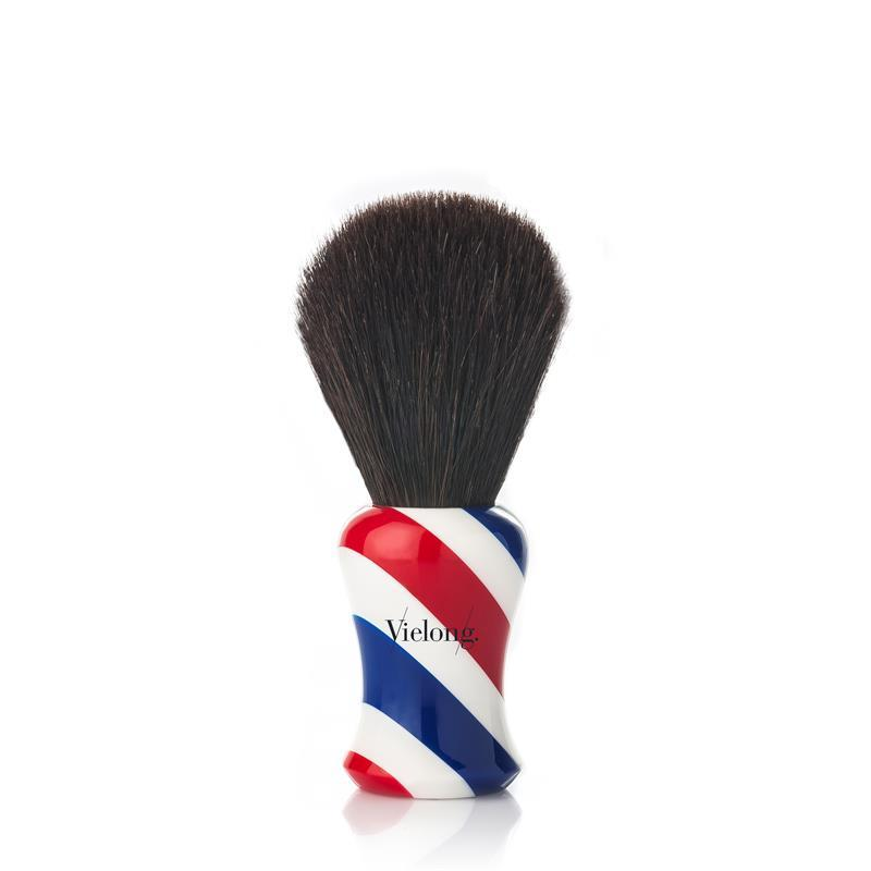 Vie-Long Black Horse Hair Barber Shop Shaving Brush