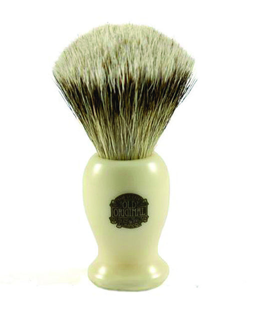 Progress Vulfix Super Badger Shaving Brush, Medium Cream Handle,
