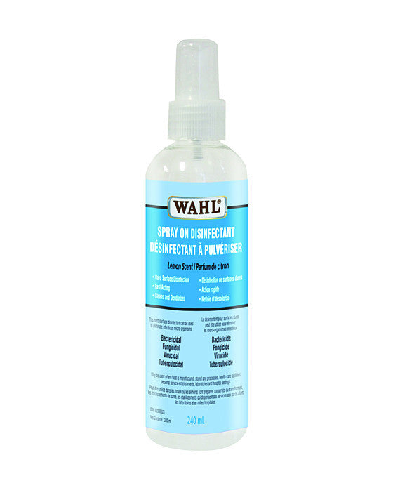 Wahl Spray On Disinfectant (240ml), Disinfectant & Cleaning