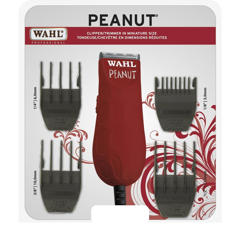 Wahl Peanut Professional Clipper & Trimmer (Red) 294g