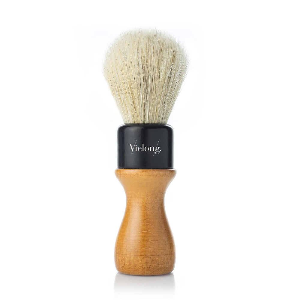 Vielong American Professional Shaving Brush with White Horsehair (24 mm)