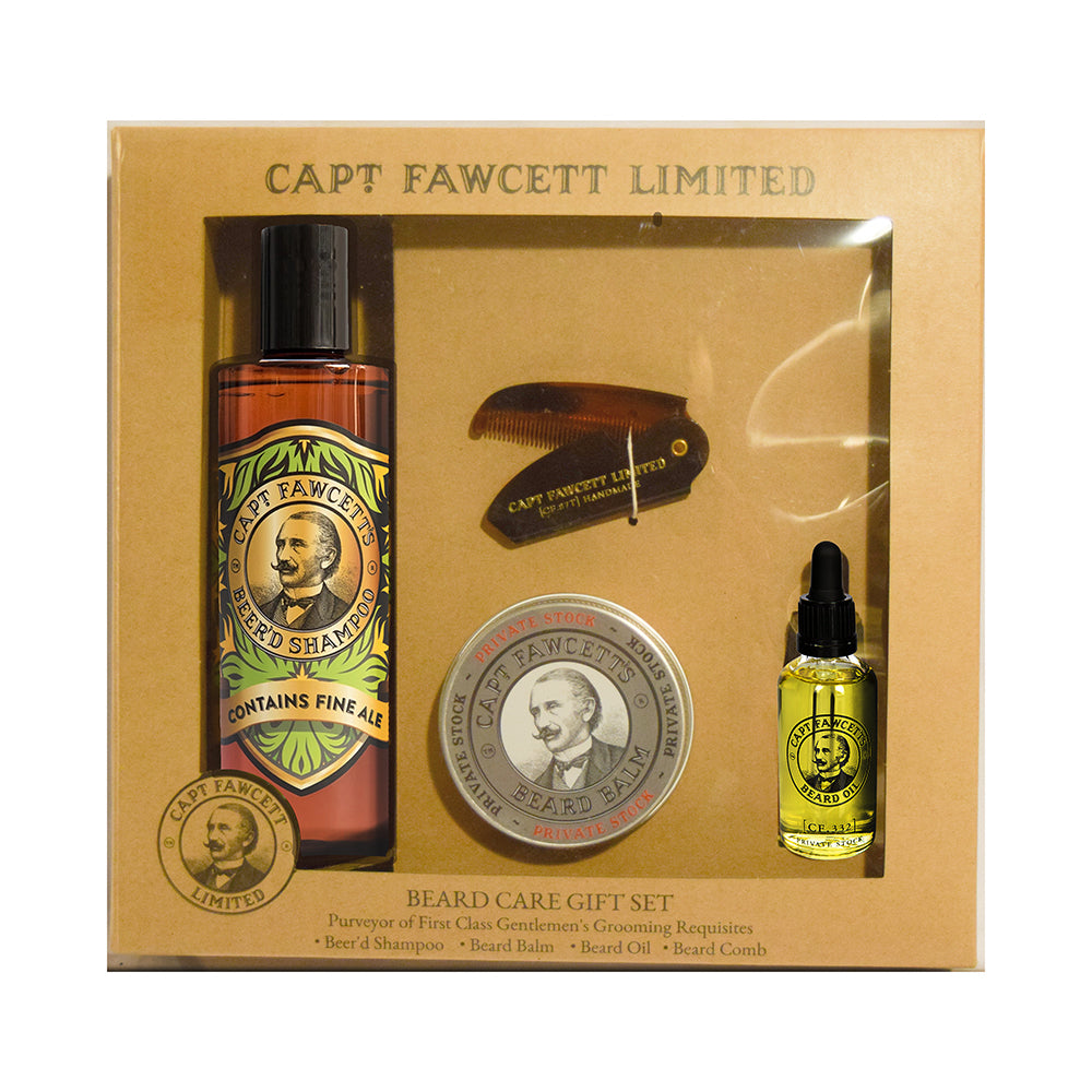 Captain Fawcett's Beard Care Gift Set