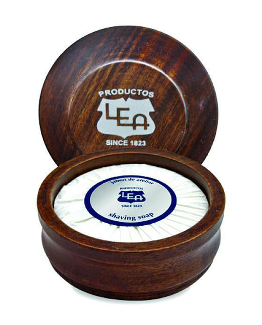 LEA Classic Shaving Soap in Wooden Bowl (100g/3.5oz), Shave Soaps