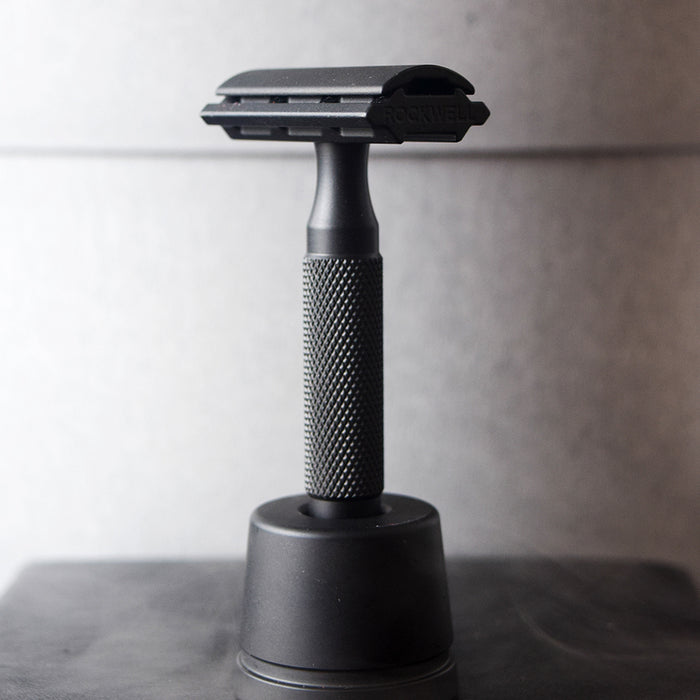 Rockwell Razors 6S PVD Black Adjustable Stainless Steel Safety Razor