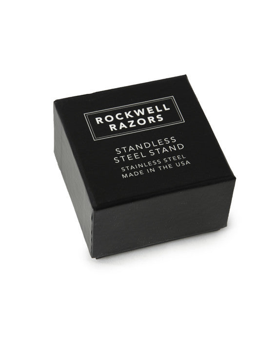 Rockwell Razors Stainless Steel Stand, Double Edge Safety Razors