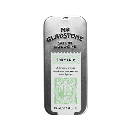 Mr. Gladstone Trevelin Solid Cologne - Fine Fragrance Reminiscent of 1974 Patagonia, Solid Cologne
