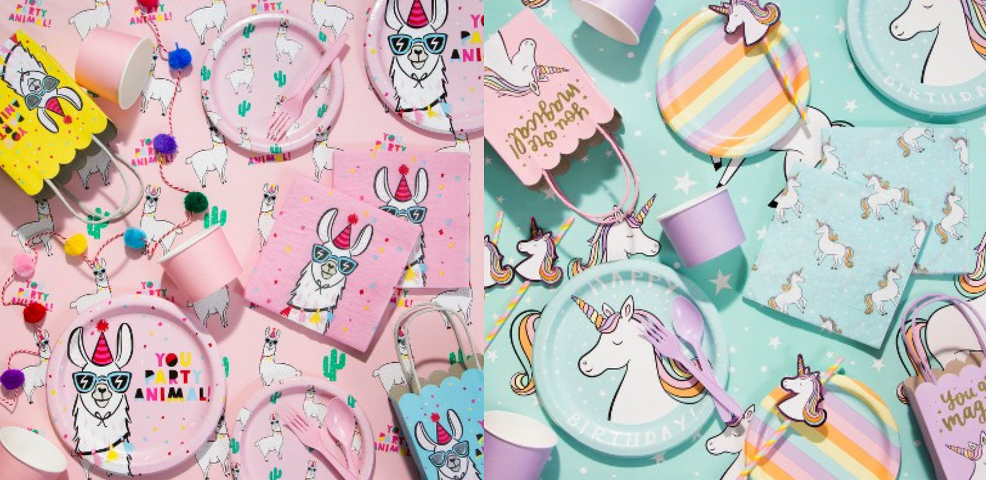 Target Party Decor Llama Unicorn Kids Birthday