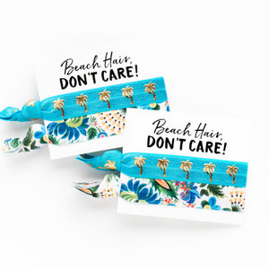 Tropical Bachelorette | 2 Hair Tie Favors