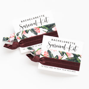 Desert Palms Bachelorette | 2 Hair Tie Favors