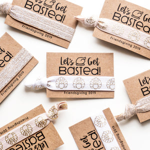 Let's Get Basted! Friendsgiving Turkey Favors