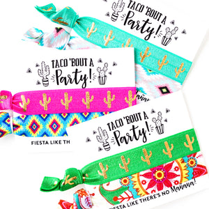 TACO 'BOUT A PARTY Cactus Birthday Favor