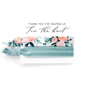Wedding Party Proposal | 2 Hair Tie Favor Card