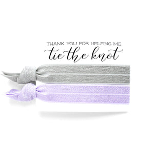Bridal Party Proposal | 2 Hair Tie Favor Card